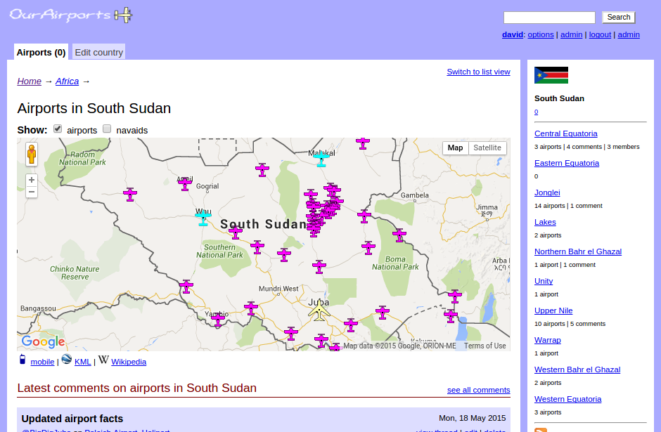interactive-map-of-airports-in-south-sudan