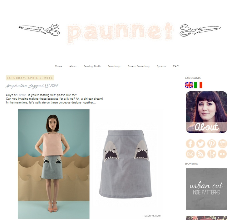 Paunnet Sewing Blog
