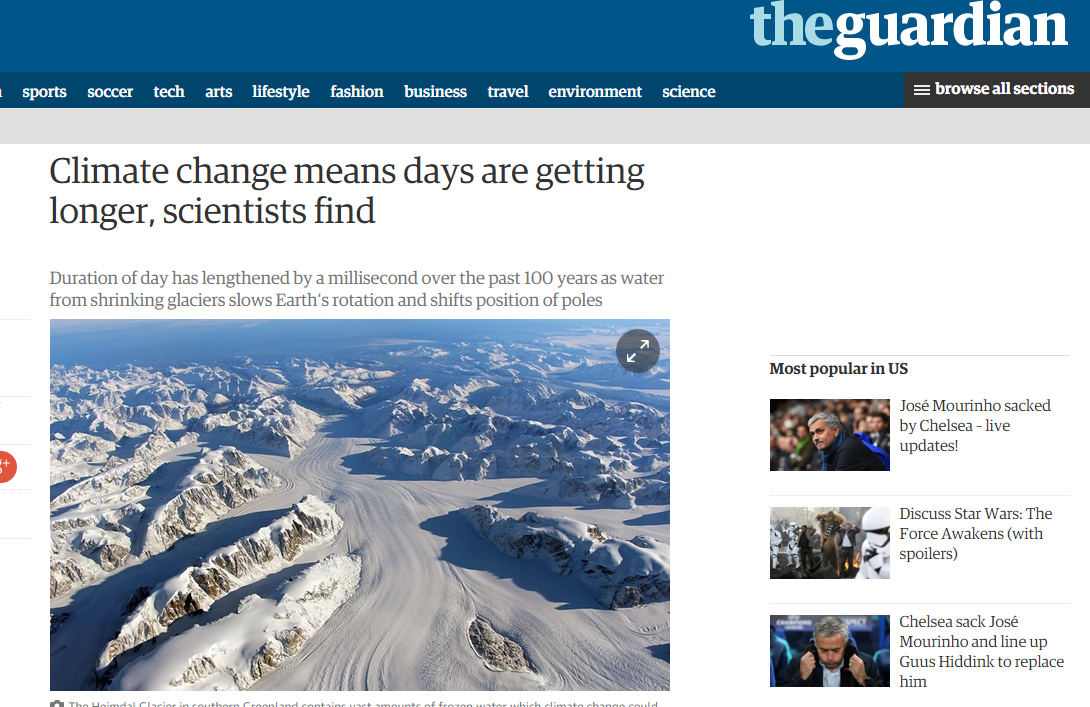 the various causes of global warming today Earth's climate has changed over various timescales since the dawn of  to have  been relatively warm—indeed, perhaps warmer than today in.