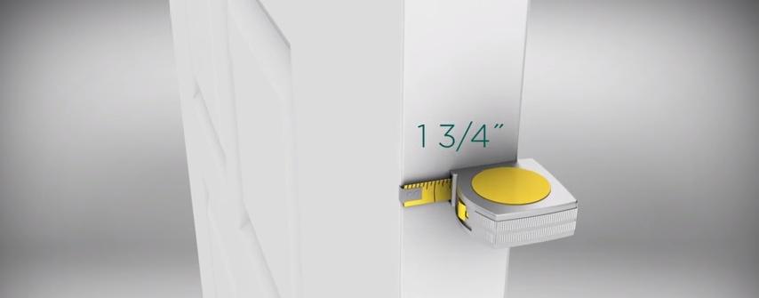 Measuring your door before installing door glass