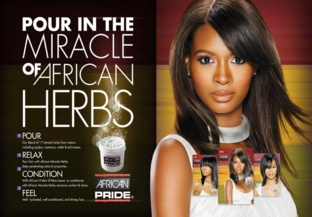 Photo of African Pride product from the beauty care section.