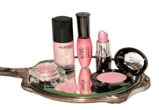 Photo of makeup kit from the beauty care section.