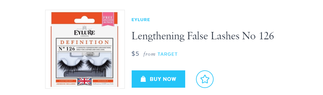 eylure false lashes #126
