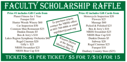 Faculty Scholarship Raffle