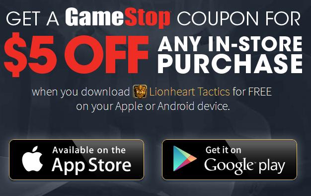 Gamestop coupon codes online