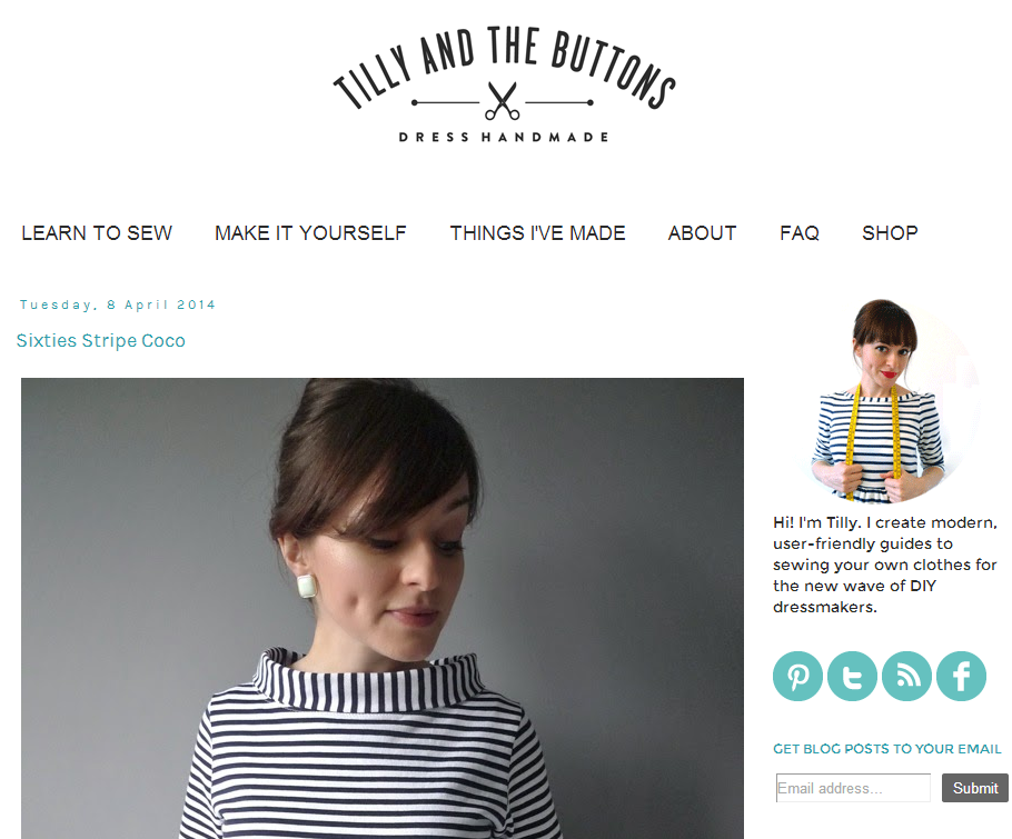 Tilly Walnes Sewing Blog