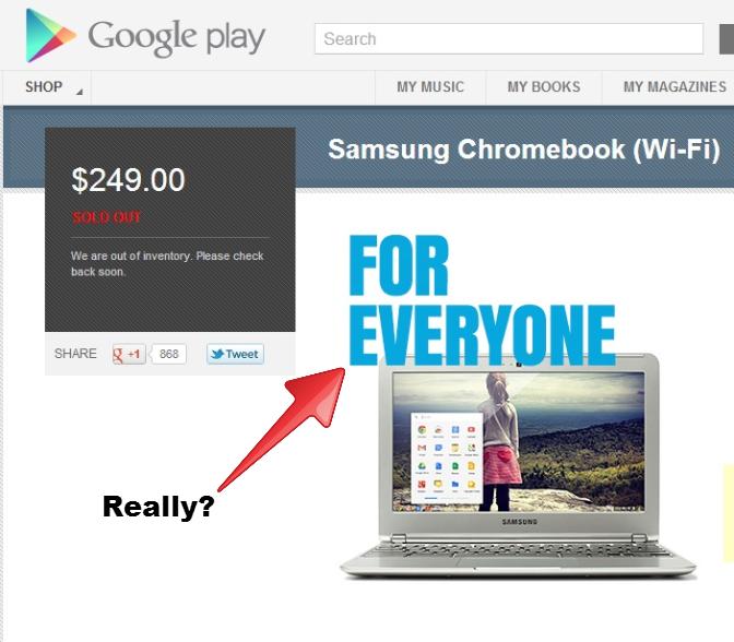 Samsung Chromebook (Wi-Fi) - Google Play