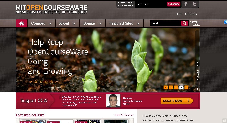 MIT's OpenCourseWare