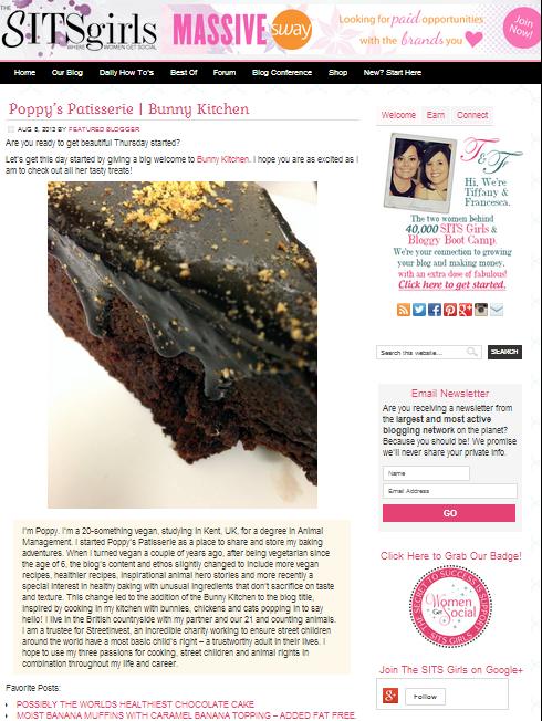 Poppy's Patisserie | Bunny Kitchen - The SITS Girls