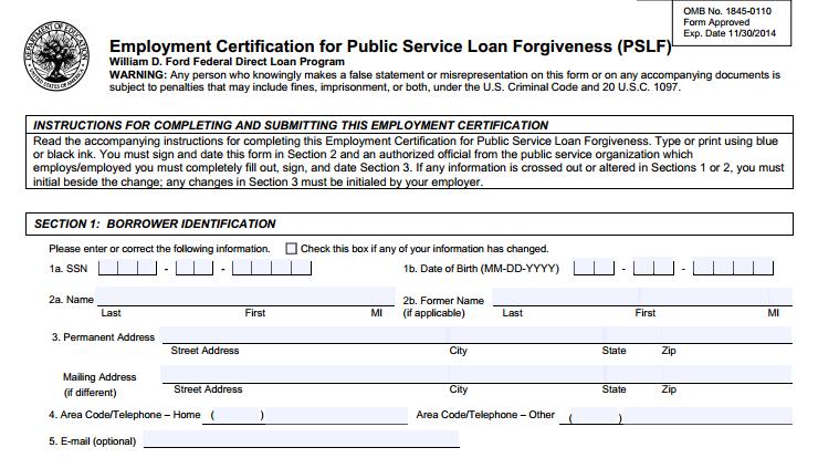 Critical Facts About Public Service Loan Forgiveness