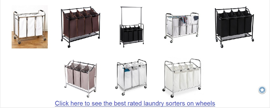 Best Heavy Duty Quad Laundry Sorter Reviews