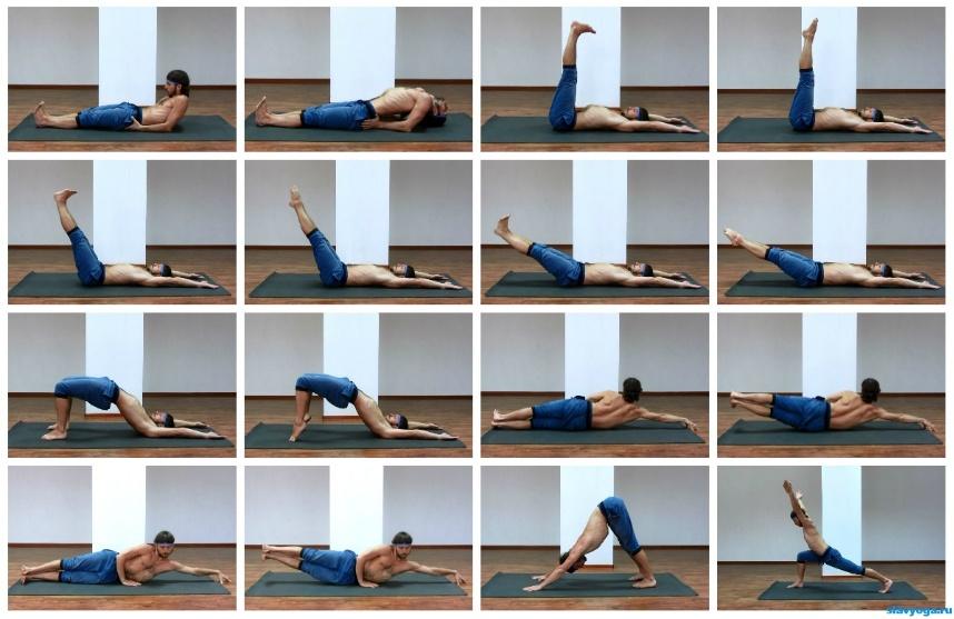 Health benefits inversions yoga