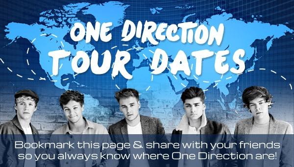 tour schedule 1