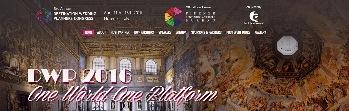 Destination Wedding Planners Congress 2016
