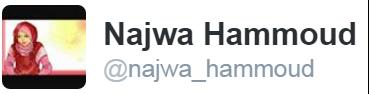 "Najwa Hammoud su Twitter: ""اعتقال دمية؟؟؟؟؟؟؟"""