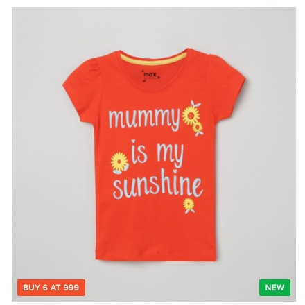Buy 6 Kids Clothing For Rs.999