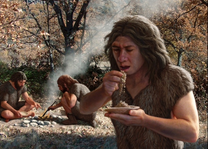 http://www.nature.com/news/neanderthal-tooth-plaque-hints-at-meals-and-kisses-1.21593