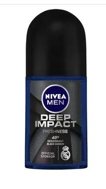 NIVEA Men Deodorant Roll On, Deep Impact Freshness