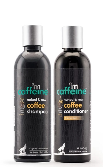 Coffee Shampoo & Coffee Conditioner Duo – Hair Fall Control