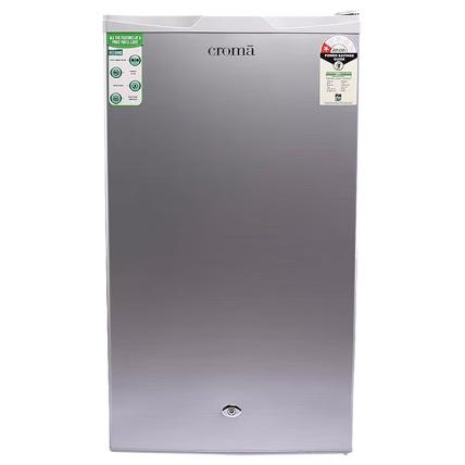 Croma 90 L 1 Star Direct Cool Reversible Single Door Refrigerator (CRAR0219, White)