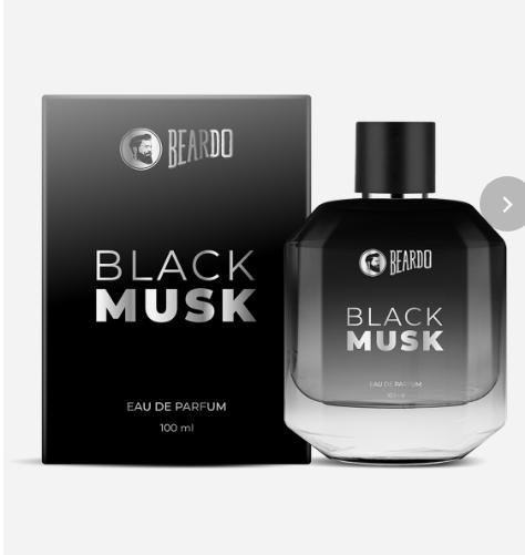 BEARDO Black Musk Perfume, 100ml
