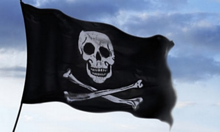 The Jolly Roger: Skull & Bones Flag - HalloweenEventsUSA.com