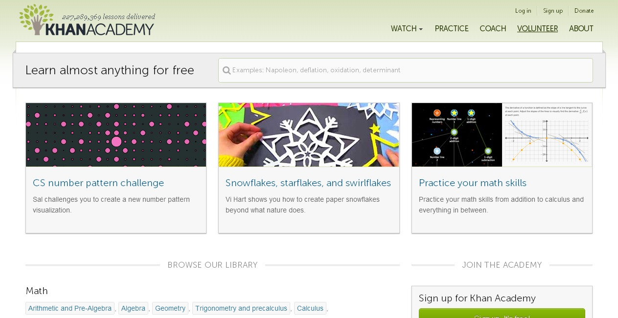 11 online learning websites to learn how to code and more khan academy baditri Image collections