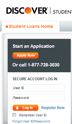 Access Discover student loan data