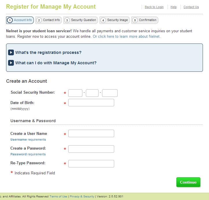 Retrieving Nelnet loan data